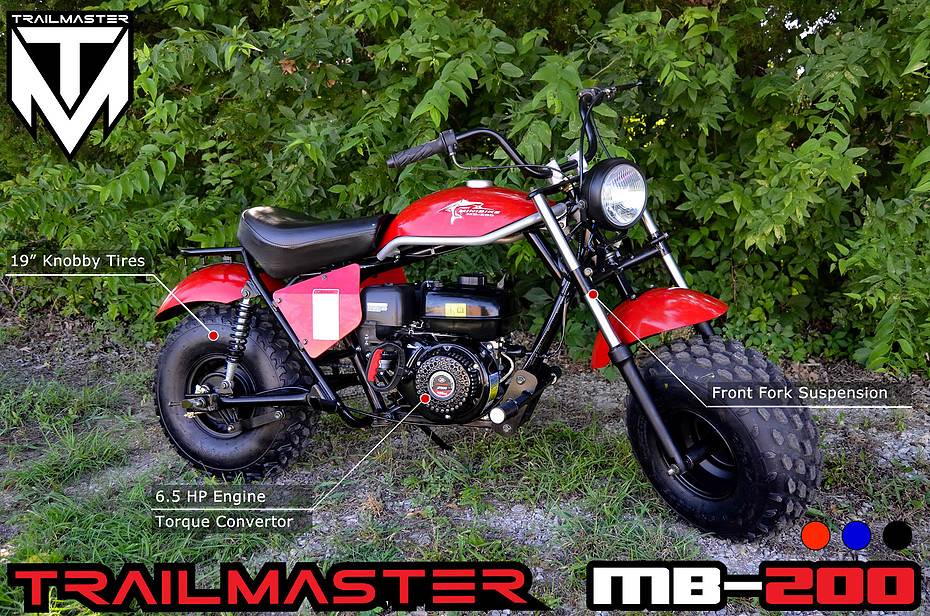 2017 Trailmaster Mb200 Mini Bike Motor Bikes Smyrna Georgia