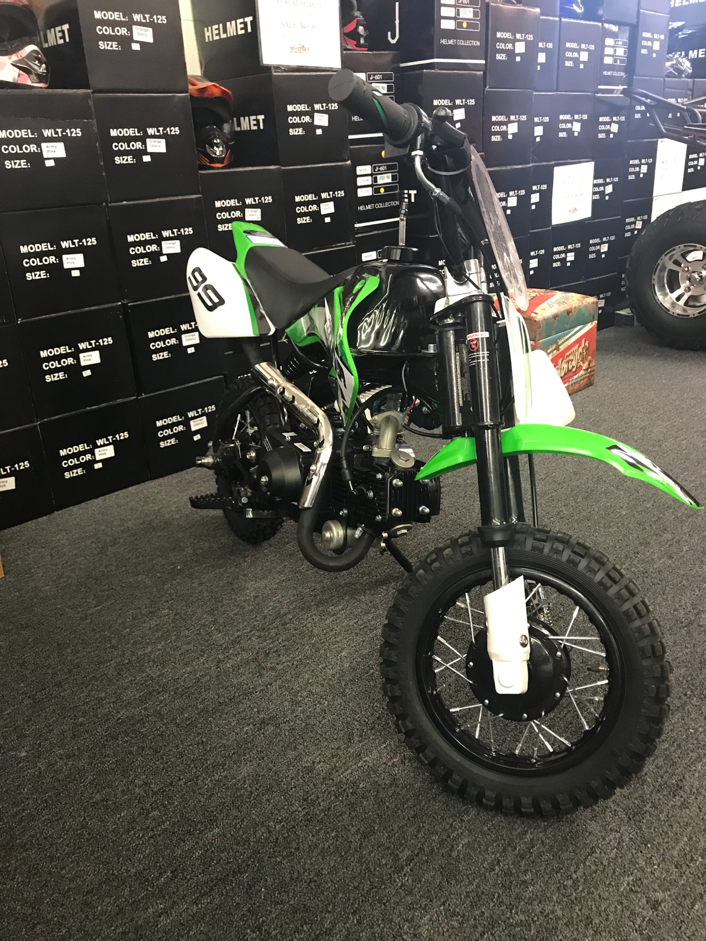 2017 Coolster Speedmax 213A  110cc Automatic w/Electric Start in Smyrna, Georgia - Photo 3