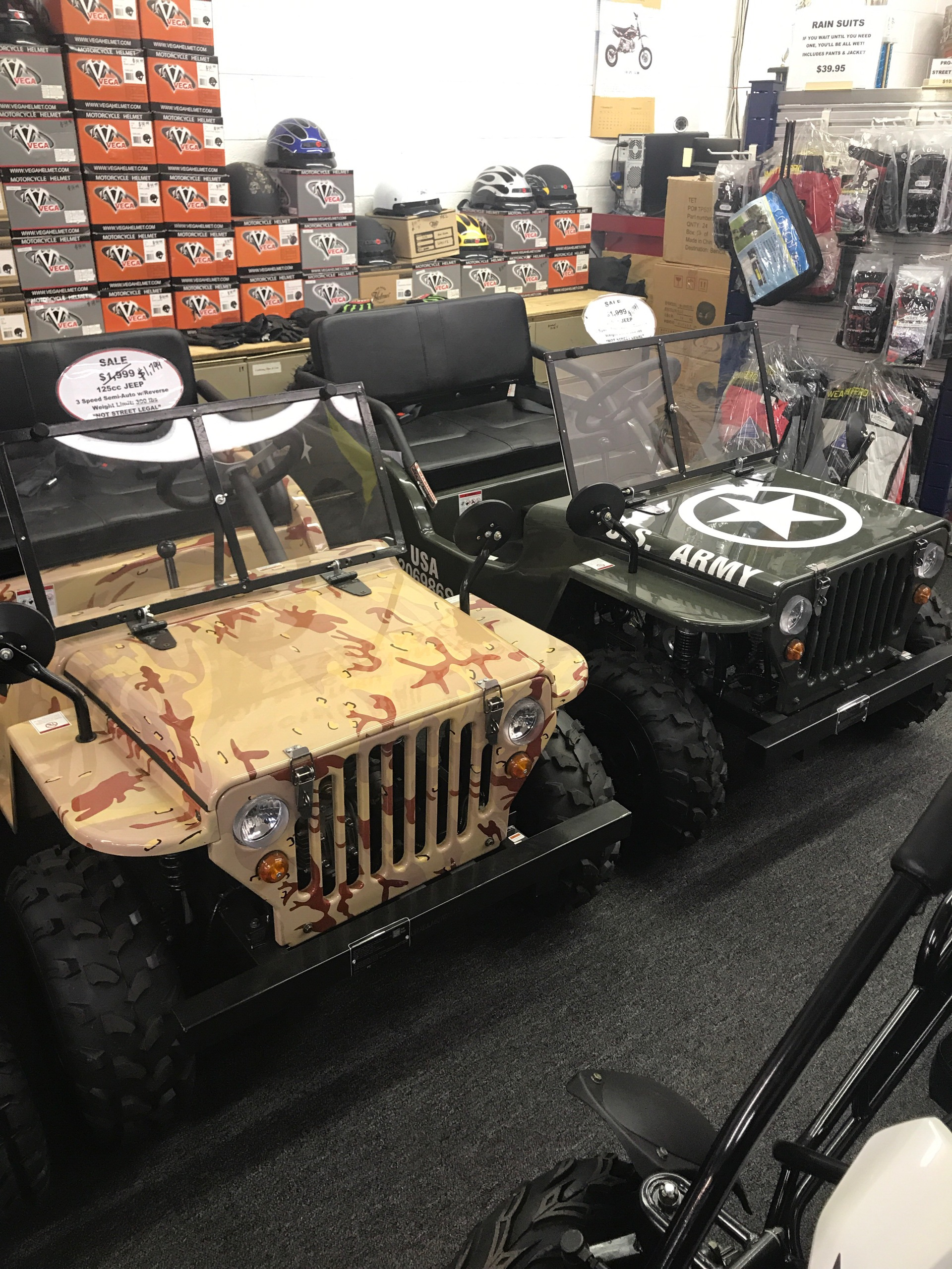 2016 Ice Bear PAZ 125 3 SPEED SEMI-AUTOMATIC JEEP in Smyrna, Georgia