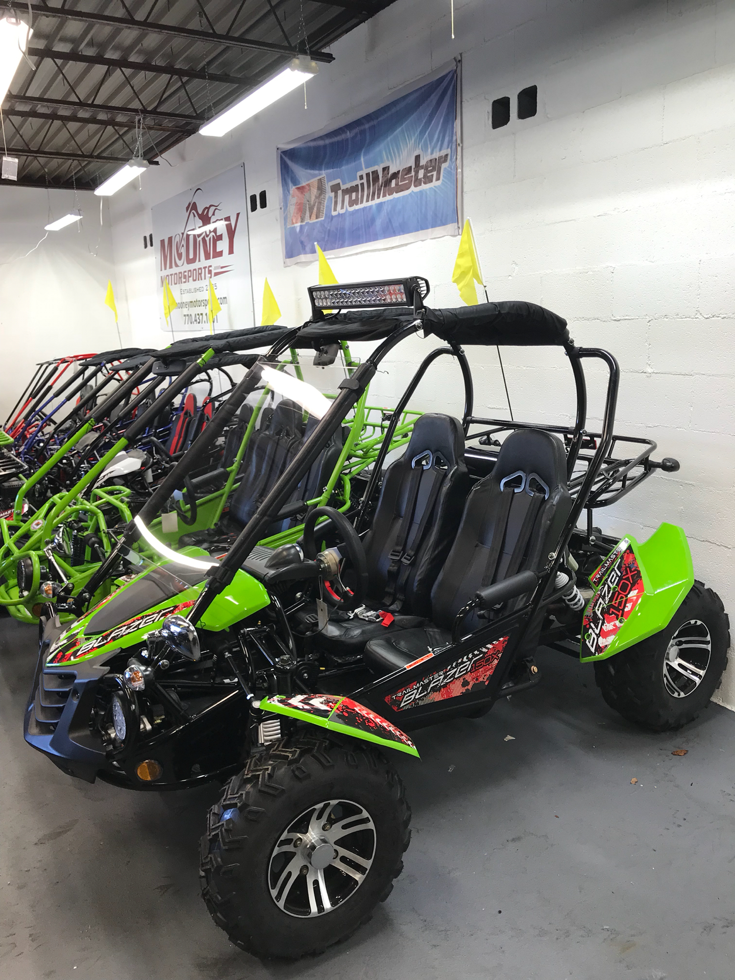 2018 Trailmaster Blazer 150X in Smyrna, Georgia - Photo 2