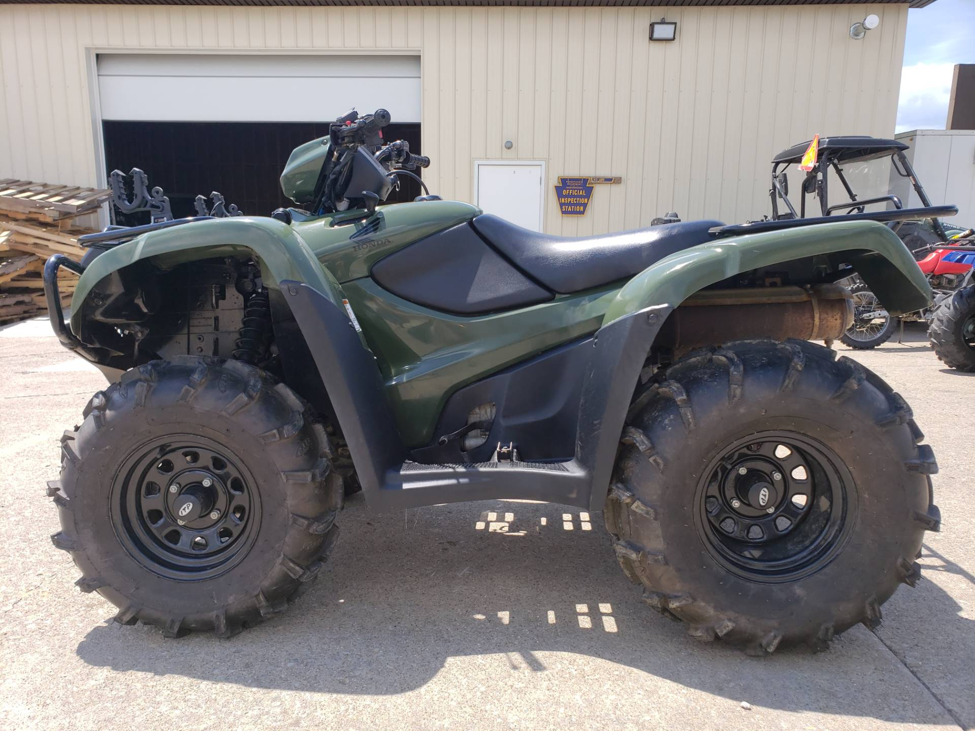 2012 Honda FourTrax® Foreman® 4x4 ES with EPS in Waynesburg, Pennsylvania - Photo 2