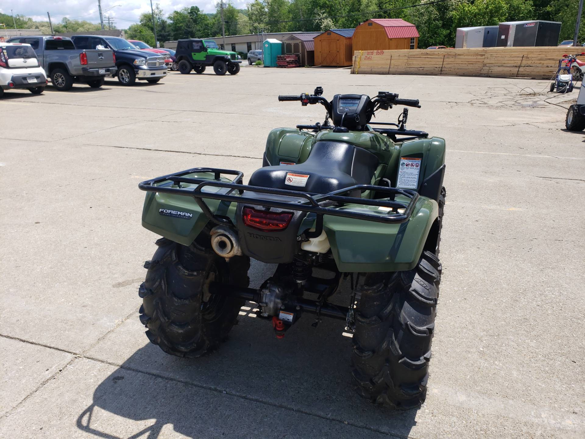 2012 Honda FourTrax® Foreman® 4x4 ES with EPS in Waynesburg, Pennsylvania - Photo 4