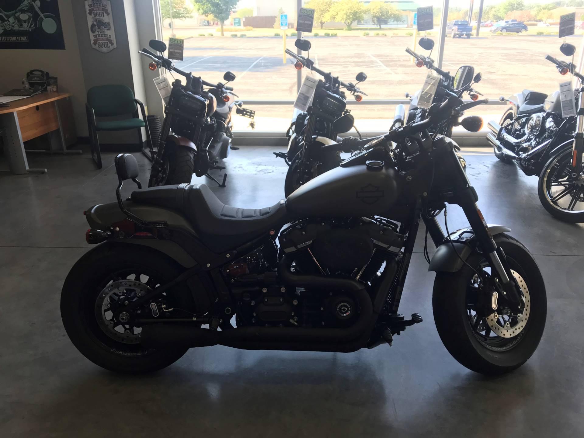 2018 Harley-Davidson Fat Bob® 114 in Edinburgh, Indiana