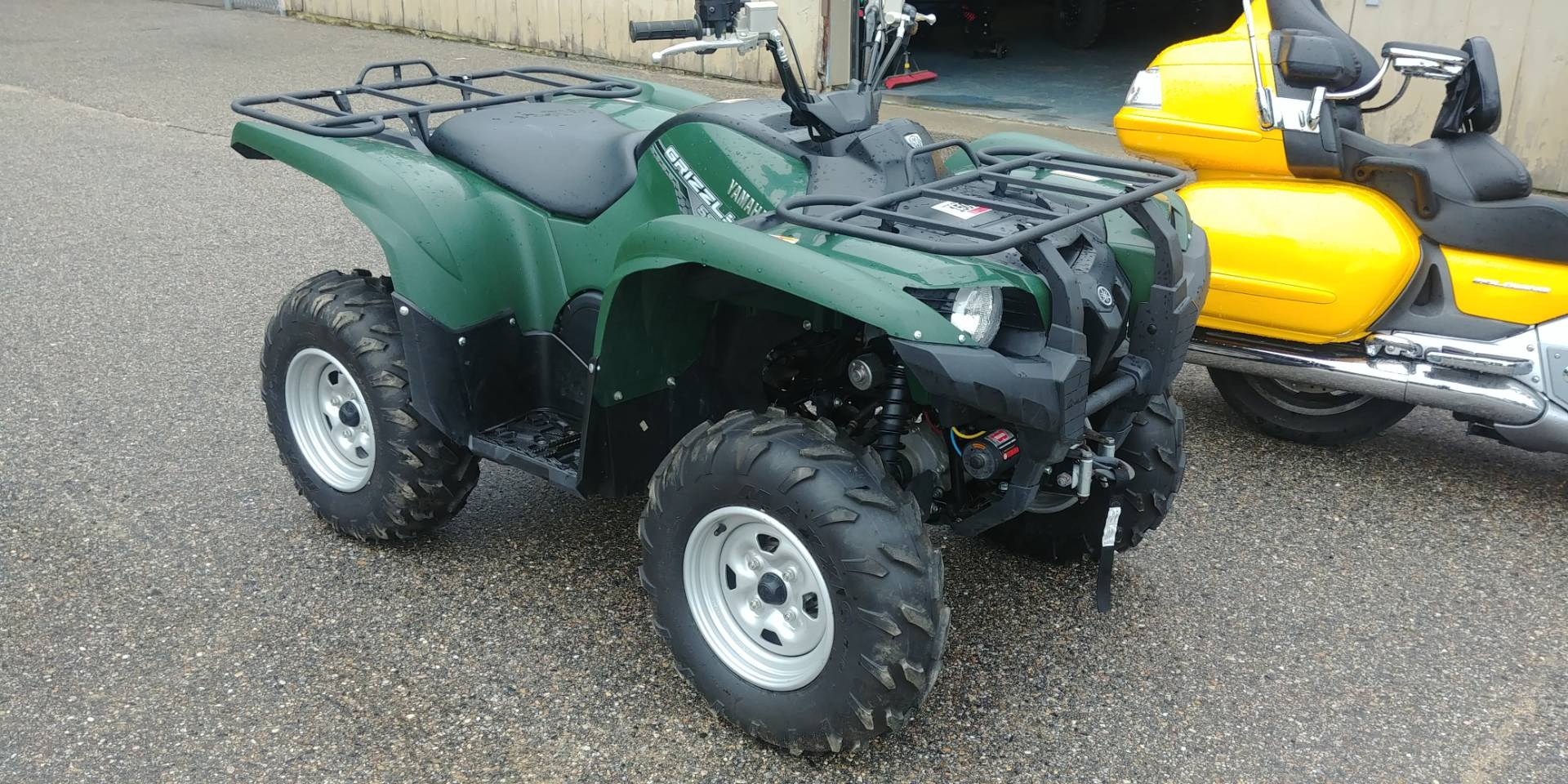 Used 2014 Yamaha Grizzly 550 FI Auto. 4x4 EPS ATVs in Tamworth, NH ...