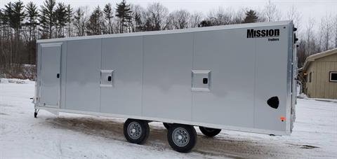 2020 Mission Trailers MES101x22 DL in Tamworth, New Hampshire - Photo 1