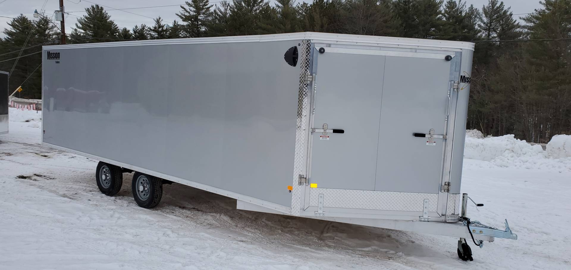 2020 Mission Trailers MES101x22 DL in Tamworth, New Hampshire - Photo 2