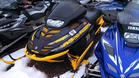 1999 Ski-Doo Mach Z in Tamworth, New Hampshire