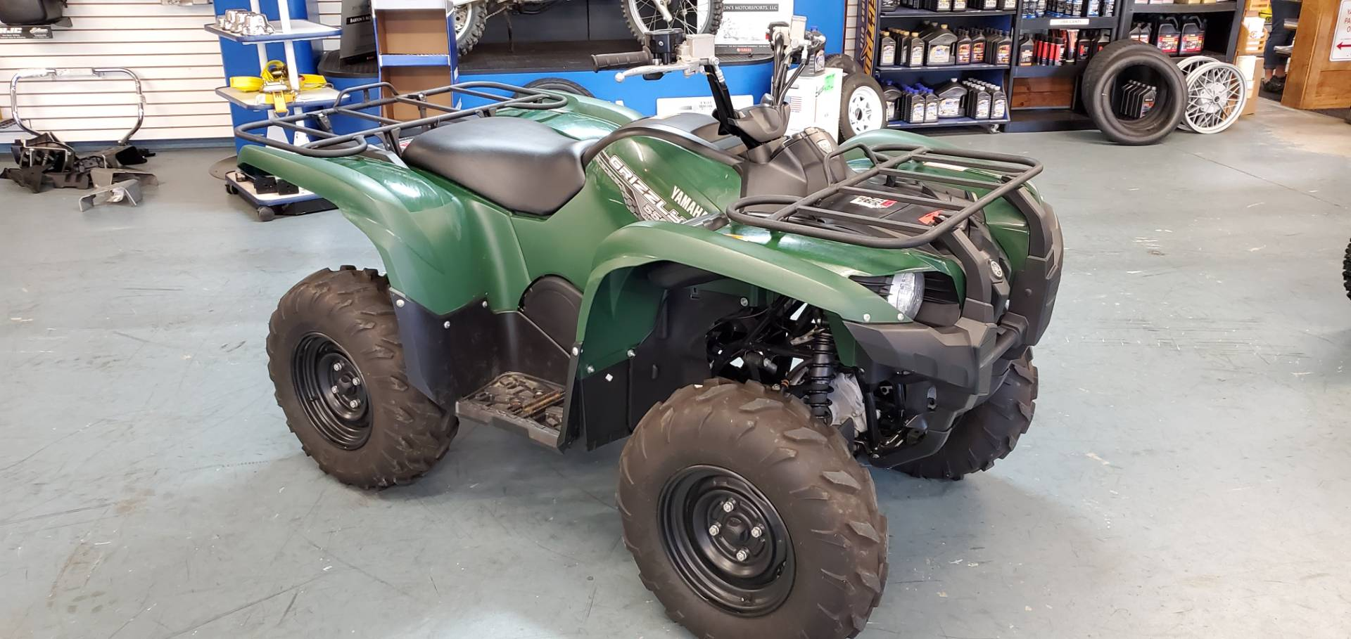 2014 Yamaha Grizzly 550 FI Auto. 4x4 in Tamworth, New Hampshire - Photo 1