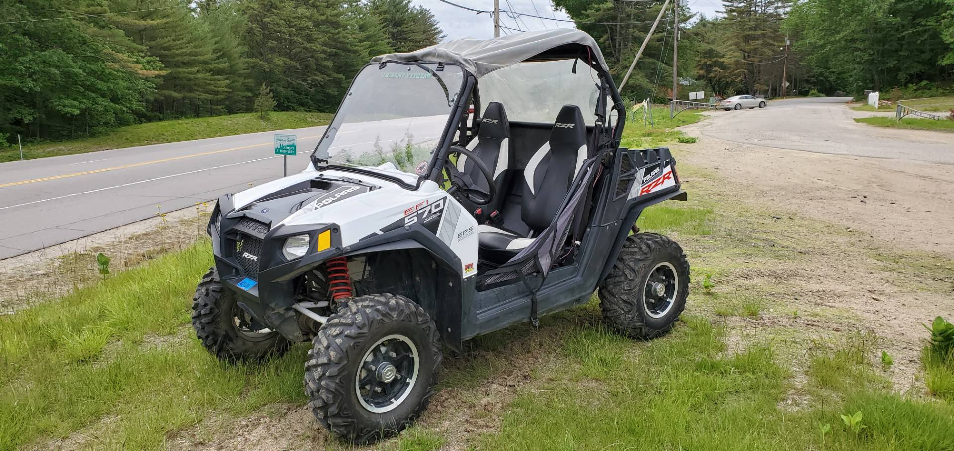 2014 Polaris RZR® 570 EPS LE in Tamworth, New Hampshire