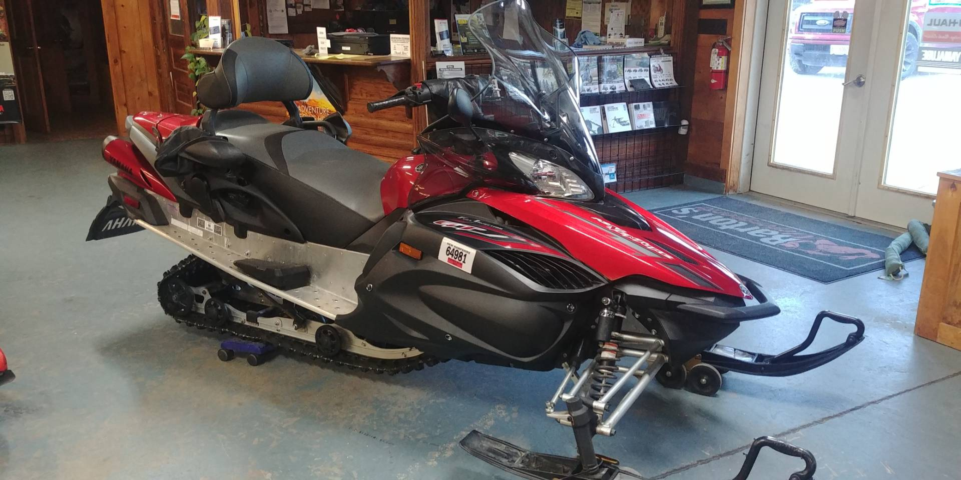 2009 Yamaha RS Venture GT in Tamworth, New Hampshire