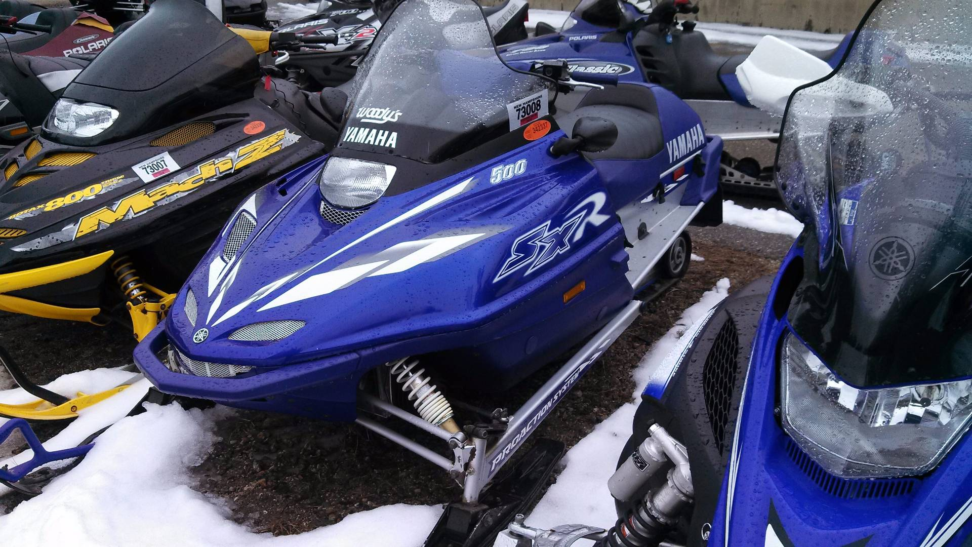 2001 Yamaha SX 500R in Tamworth, New Hampshire