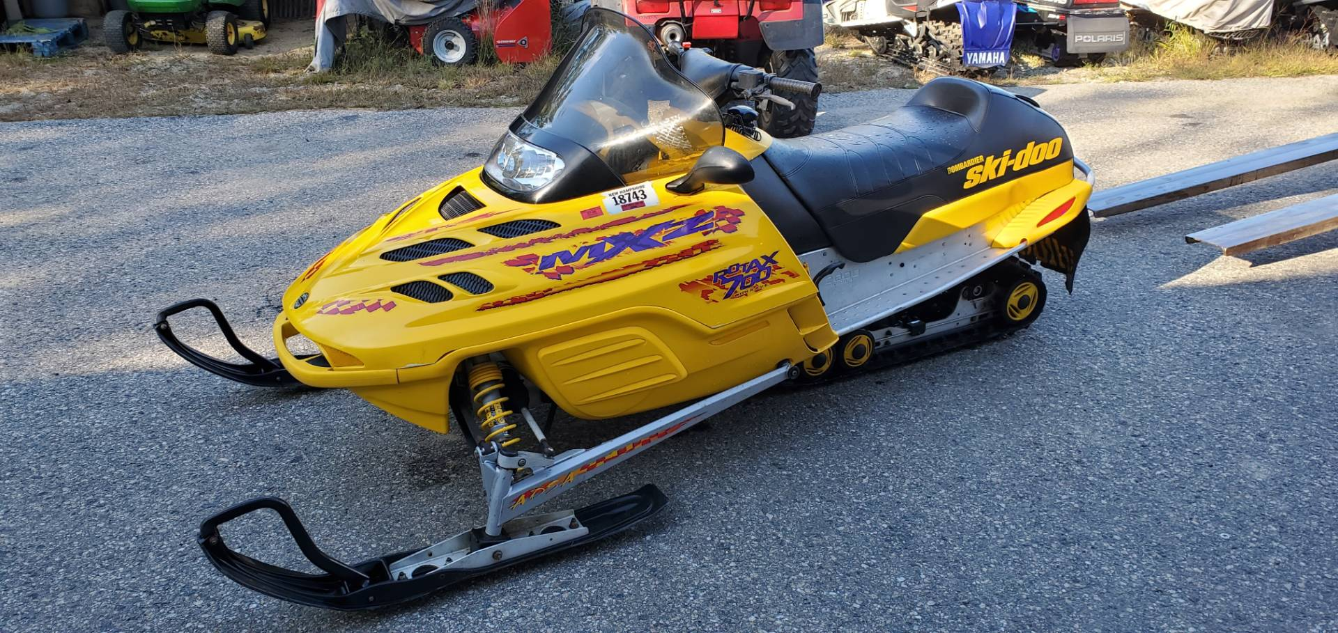 2000 Ski-Doo MX Z 700 in Tamworth, New Hampshire - Photo 1