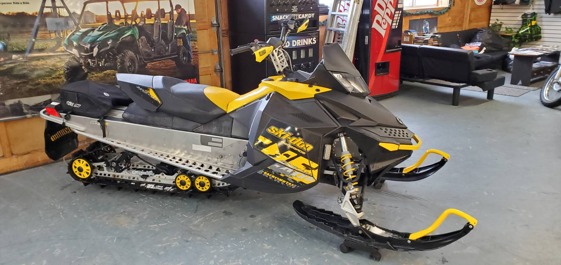 2010 Ski-Doo Renegade® Backcountry™ 600 ES in Tamworth, New Hampshire - Photo 1