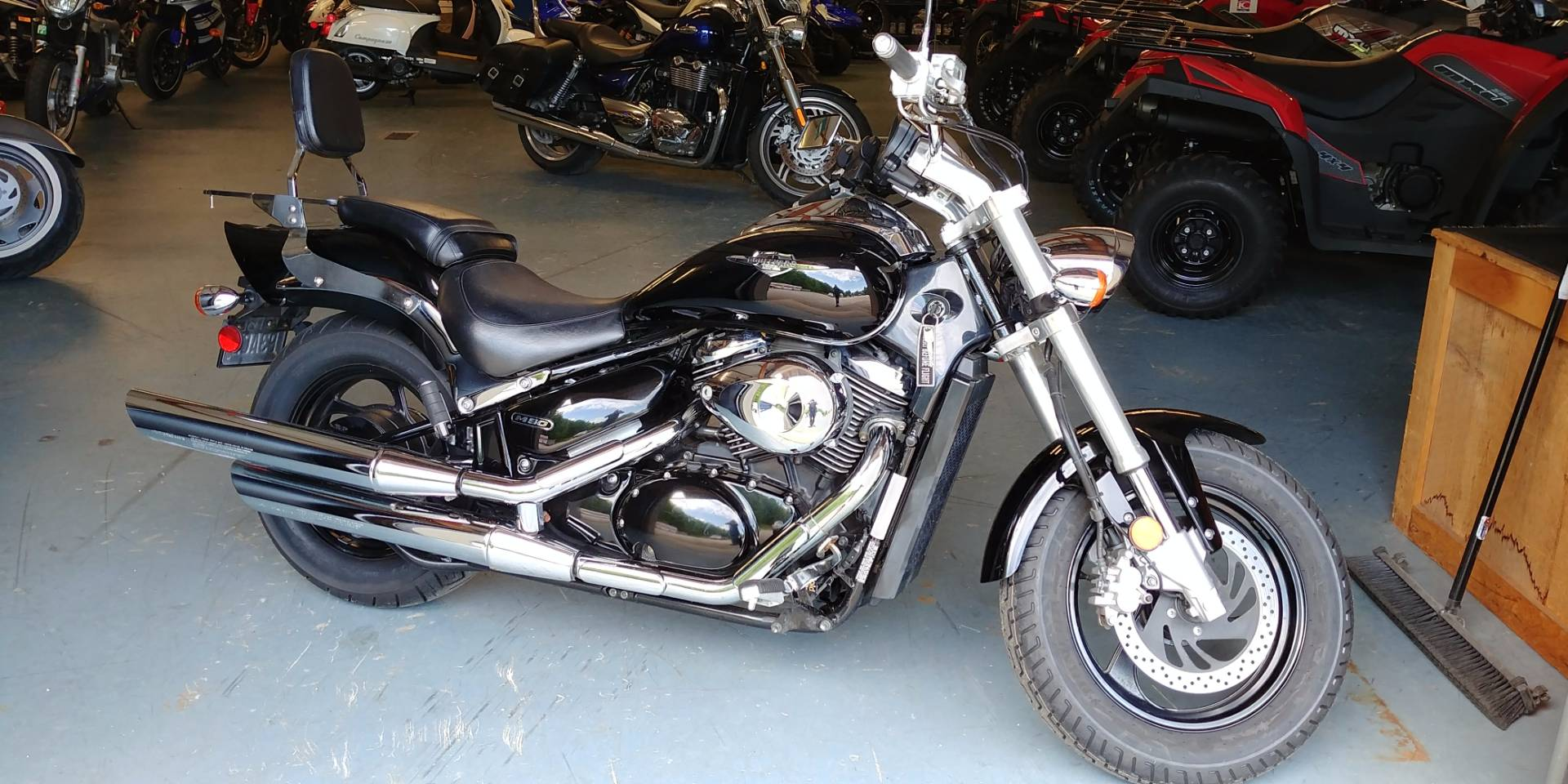 2005 Suzuki Boulevard M50 Black in Tamworth, New Hampshire