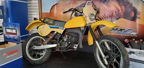 1981 Suzuki PE175 in Tamworth, New Hampshire