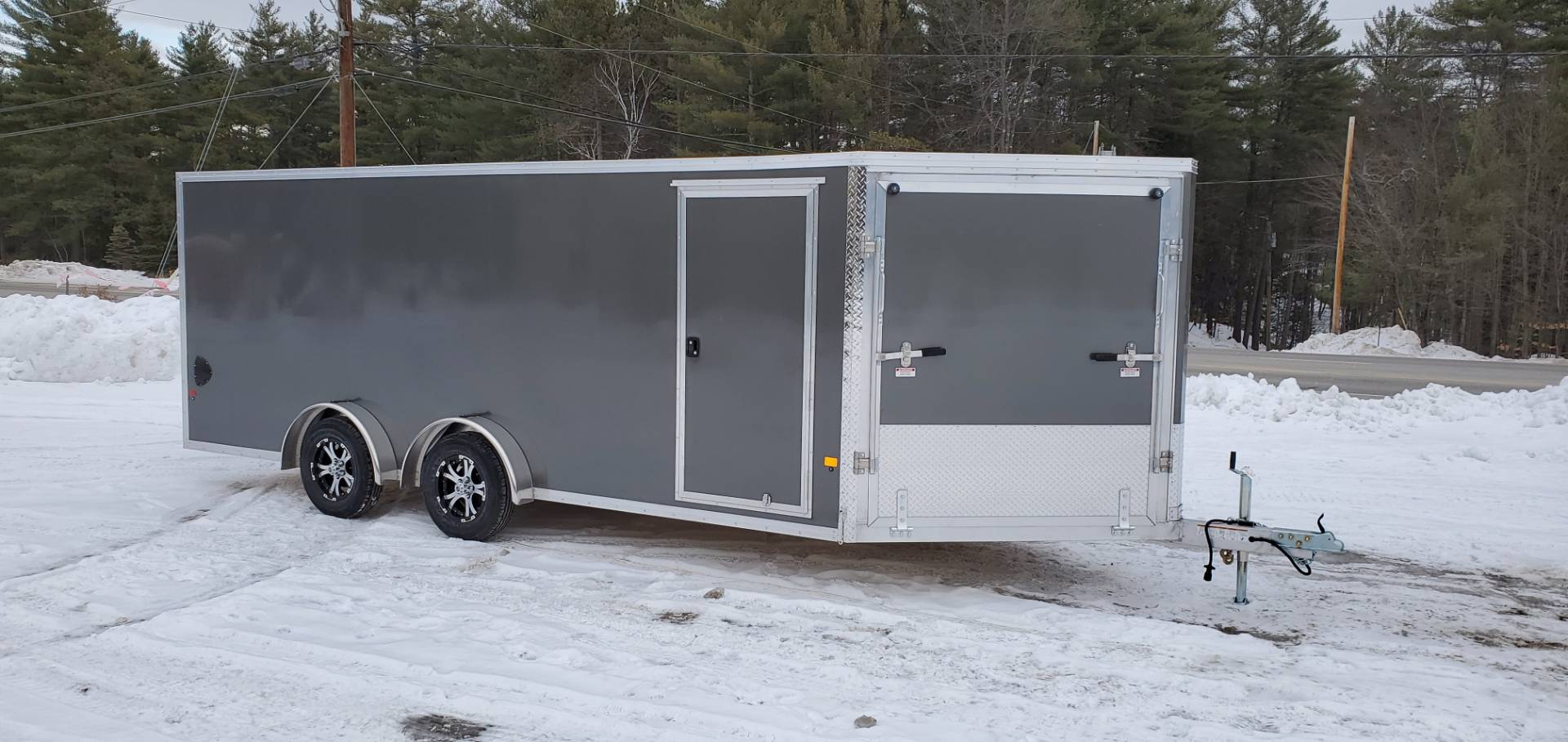2020 Mission Trailers EZES7.5X18 LIMITED in Tamworth, New Hampshire - Photo 1