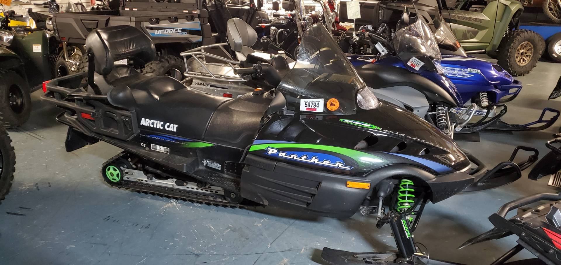 2000 Arctic Cat Panther® 550 in Tamworth, New Hampshire - Photo 1