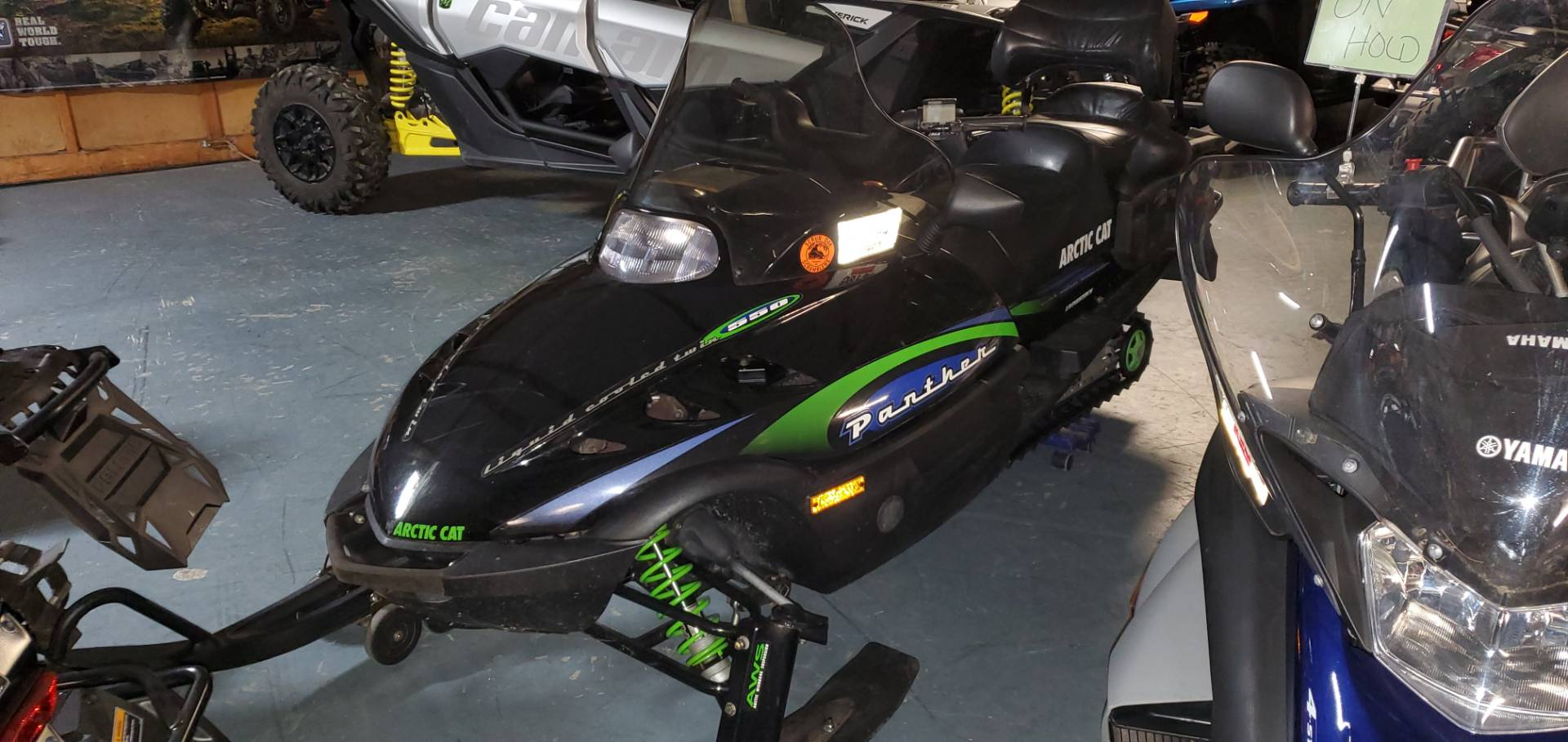 2000 Arctic Cat Panther® 550 in Tamworth, New Hampshire - Photo 2