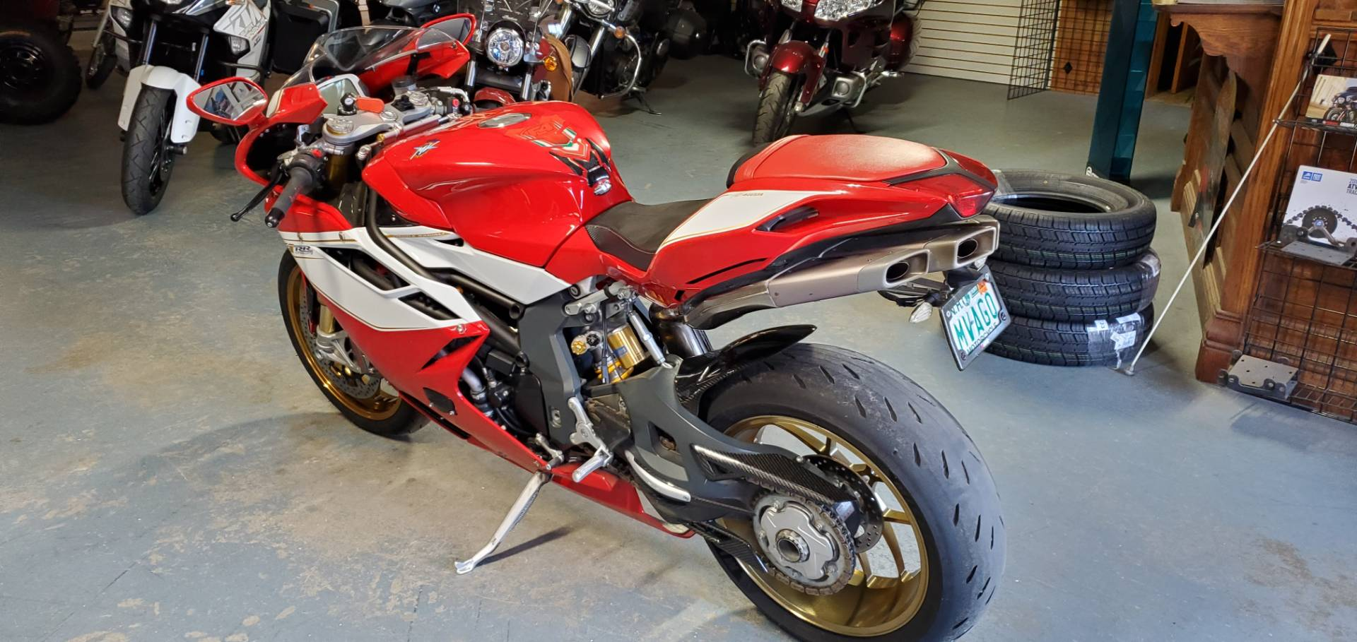 2012 MV Agusta F4 RR in Tamworth, New Hampshire - Photo 2