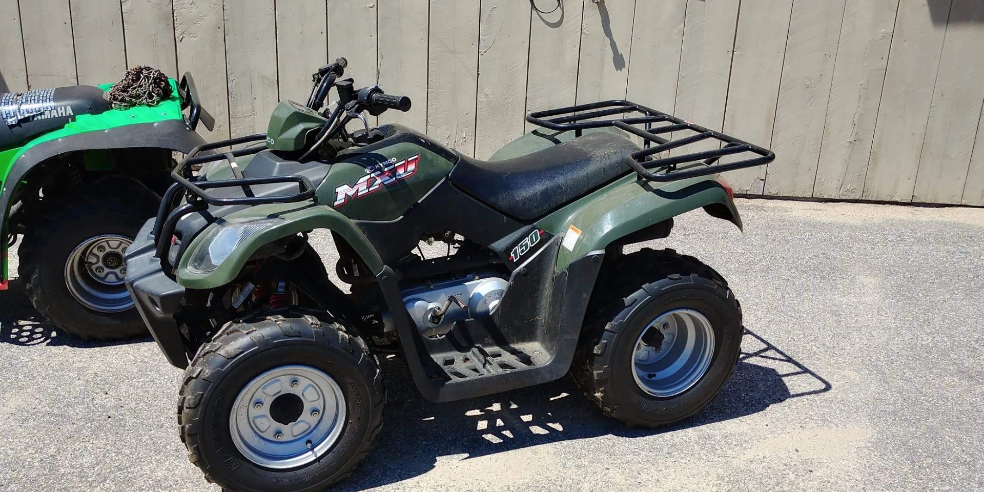2008 Kymco MXU 150 in Tamworth, New Hampshire