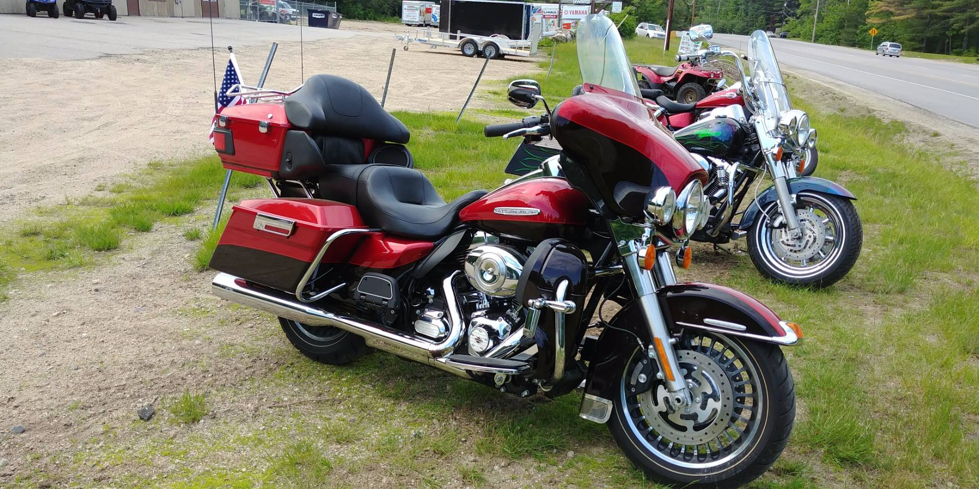 2012 Harley-Davidson Electra Glide® Ultra Limited in Tamworth, New Hampshire