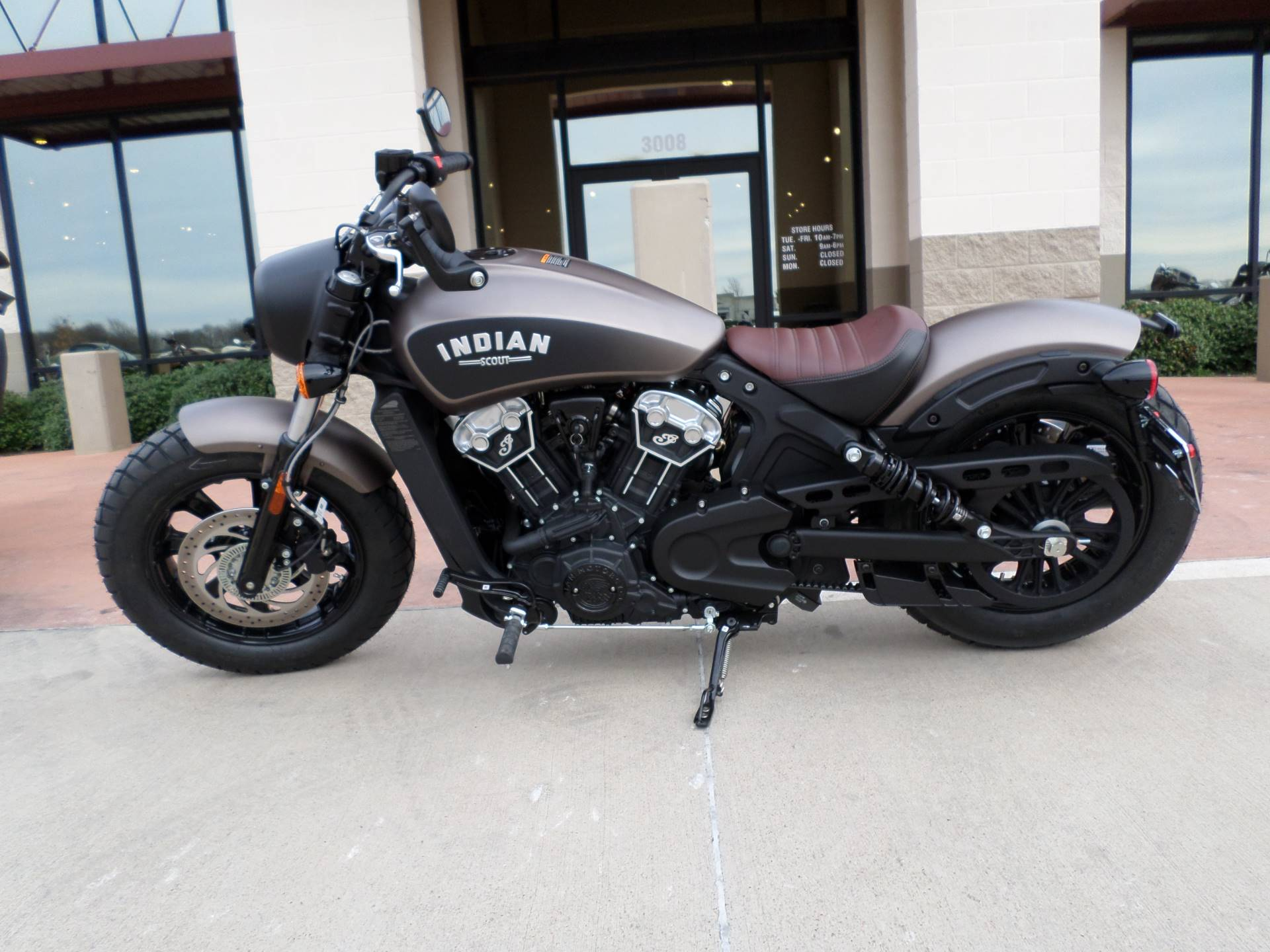 2019 Indian Scout® Bobber ABS in Fort Worth, Texas - Photo 1