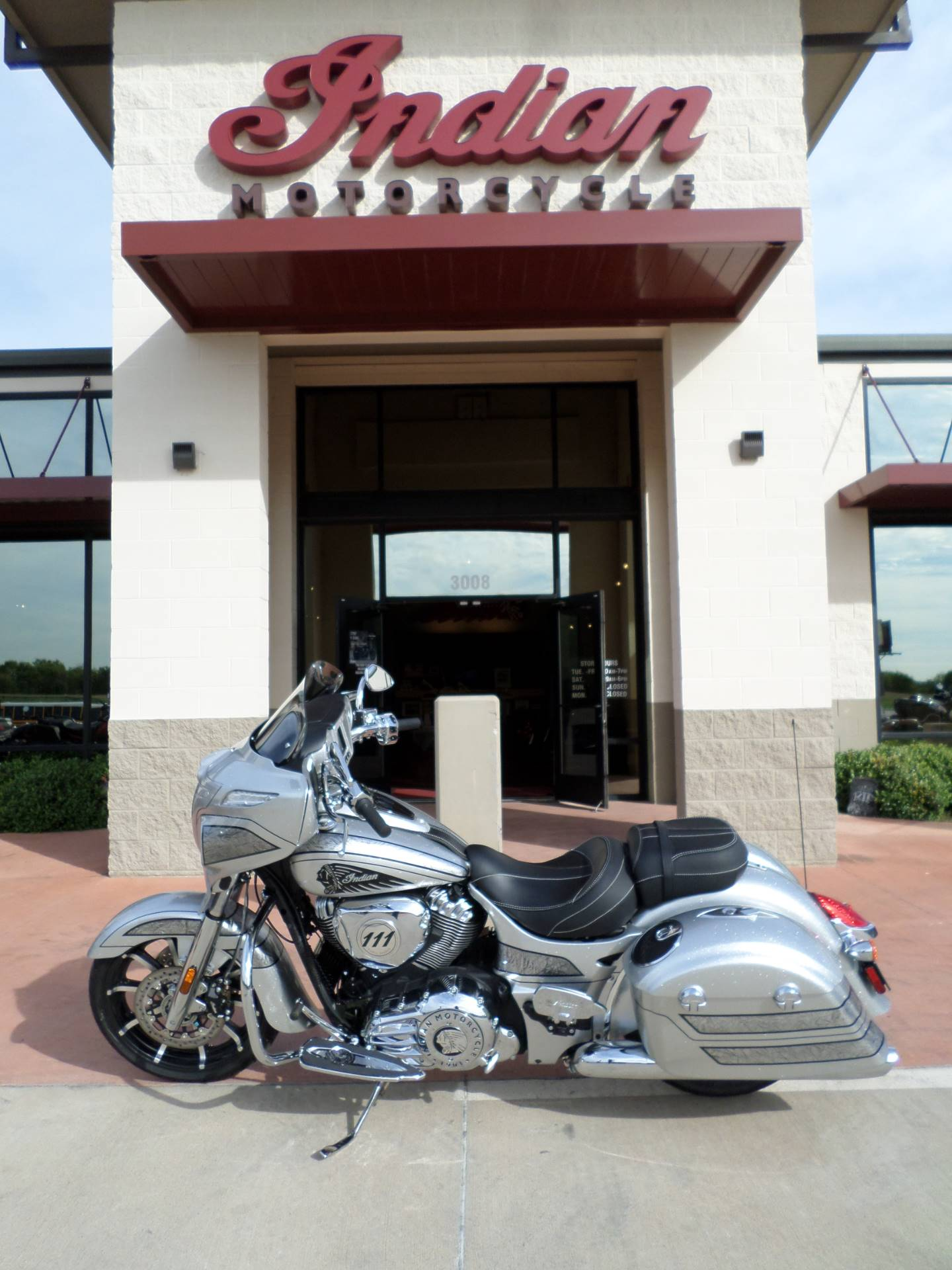 2018 Indian Chieftain Elite in Fort Worth, Texas