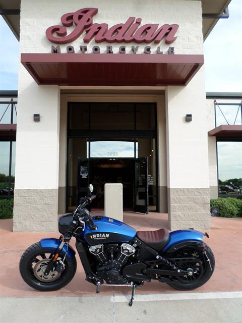 2019 Indian Scout® Bobber ABS Icon Series in Fort Worth, Texas
