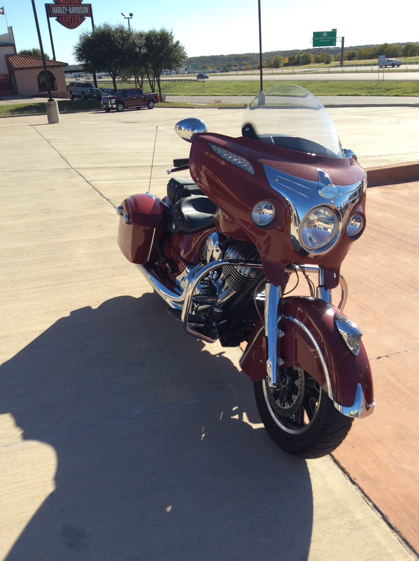 2014 Indian Chieftain™ in Fort Worth, Texas