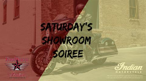 Saturday's Showroom Soiree