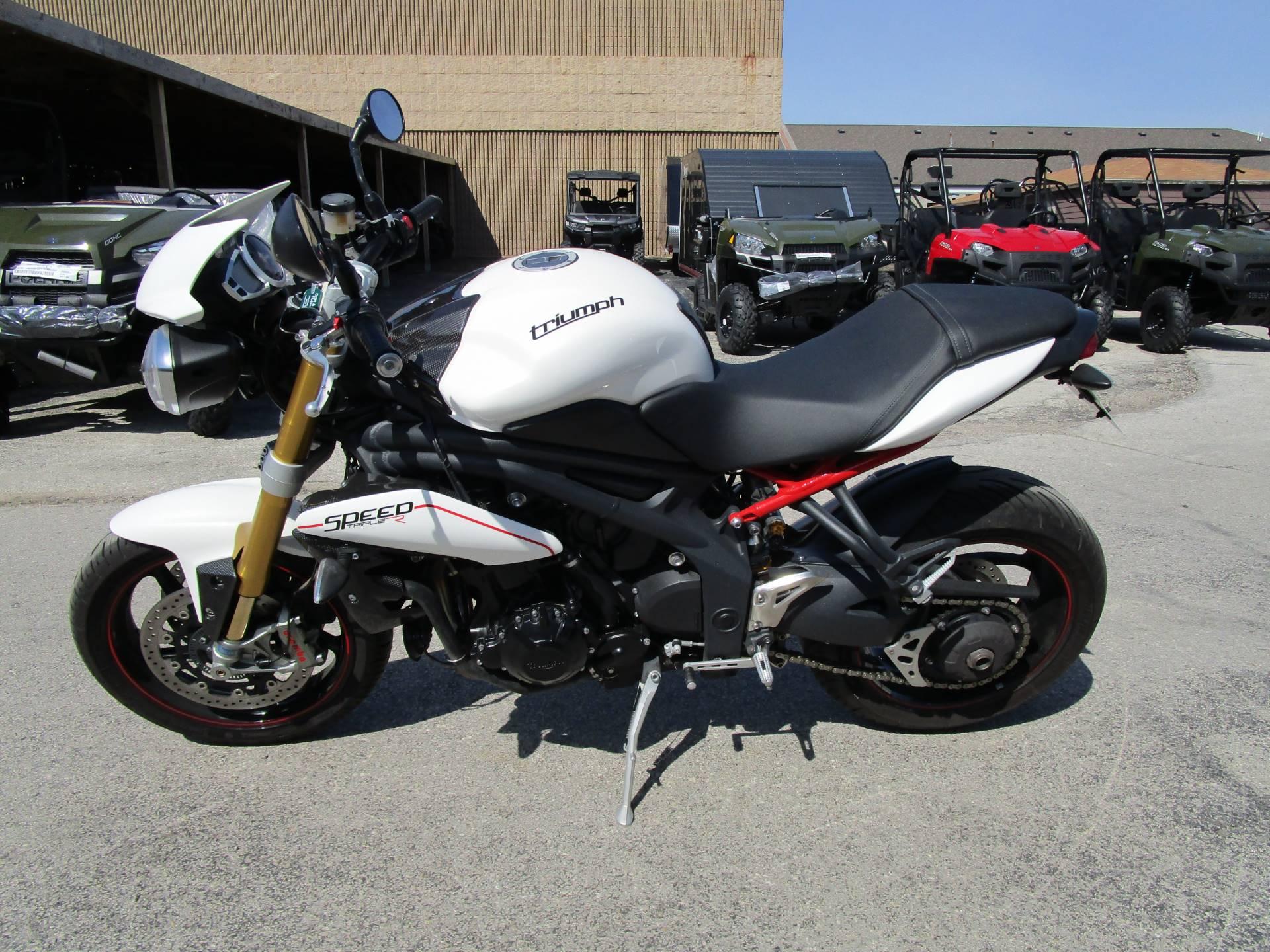 2013 Triumph Speed Triple R ABS in Brookfield, Wisconsin