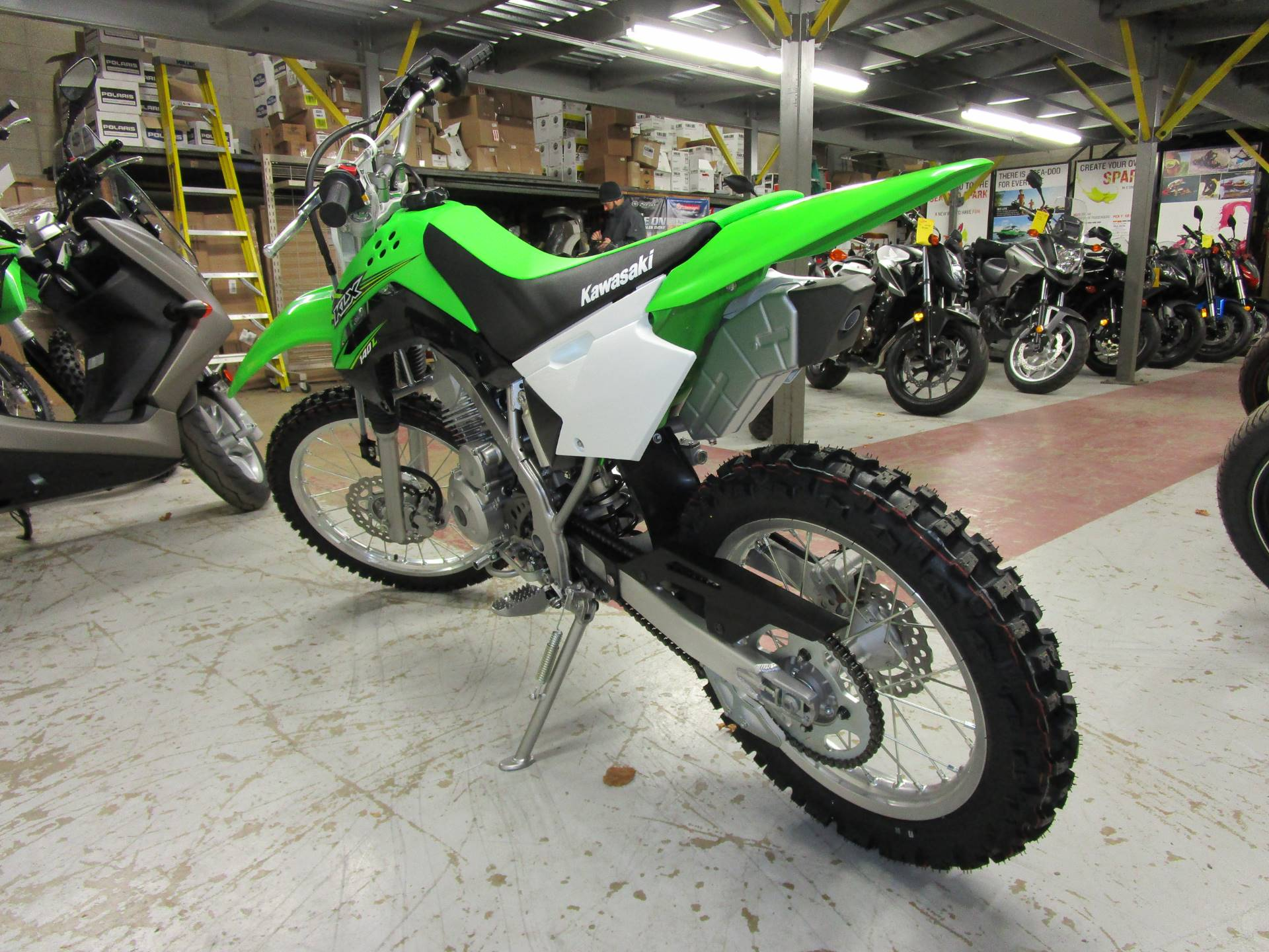 2017 Kawasaki KLX140L in Brookfield, Wisconsin