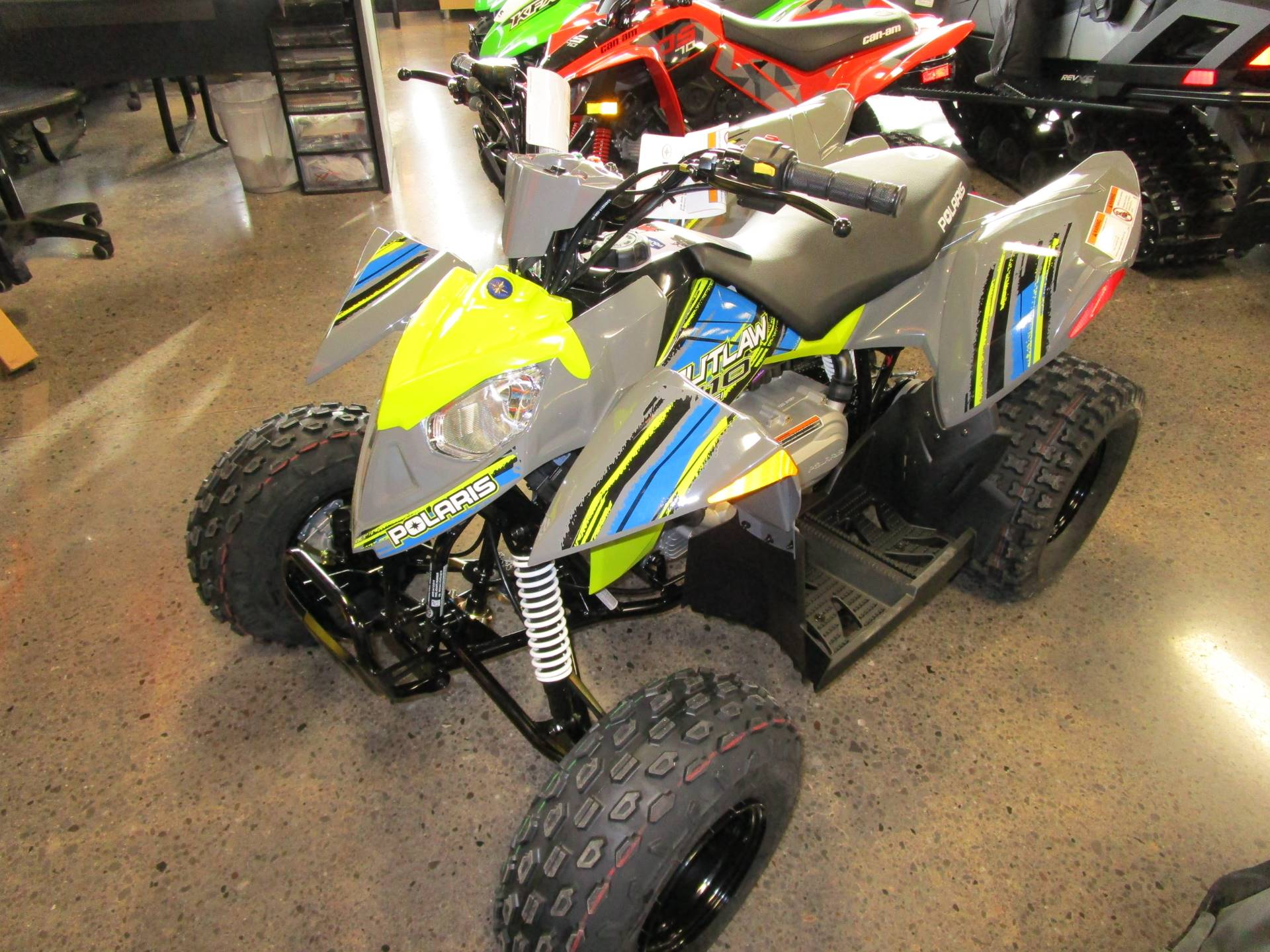 2017 Polaris Outlaw 110 in Brookfield, Wisconsin