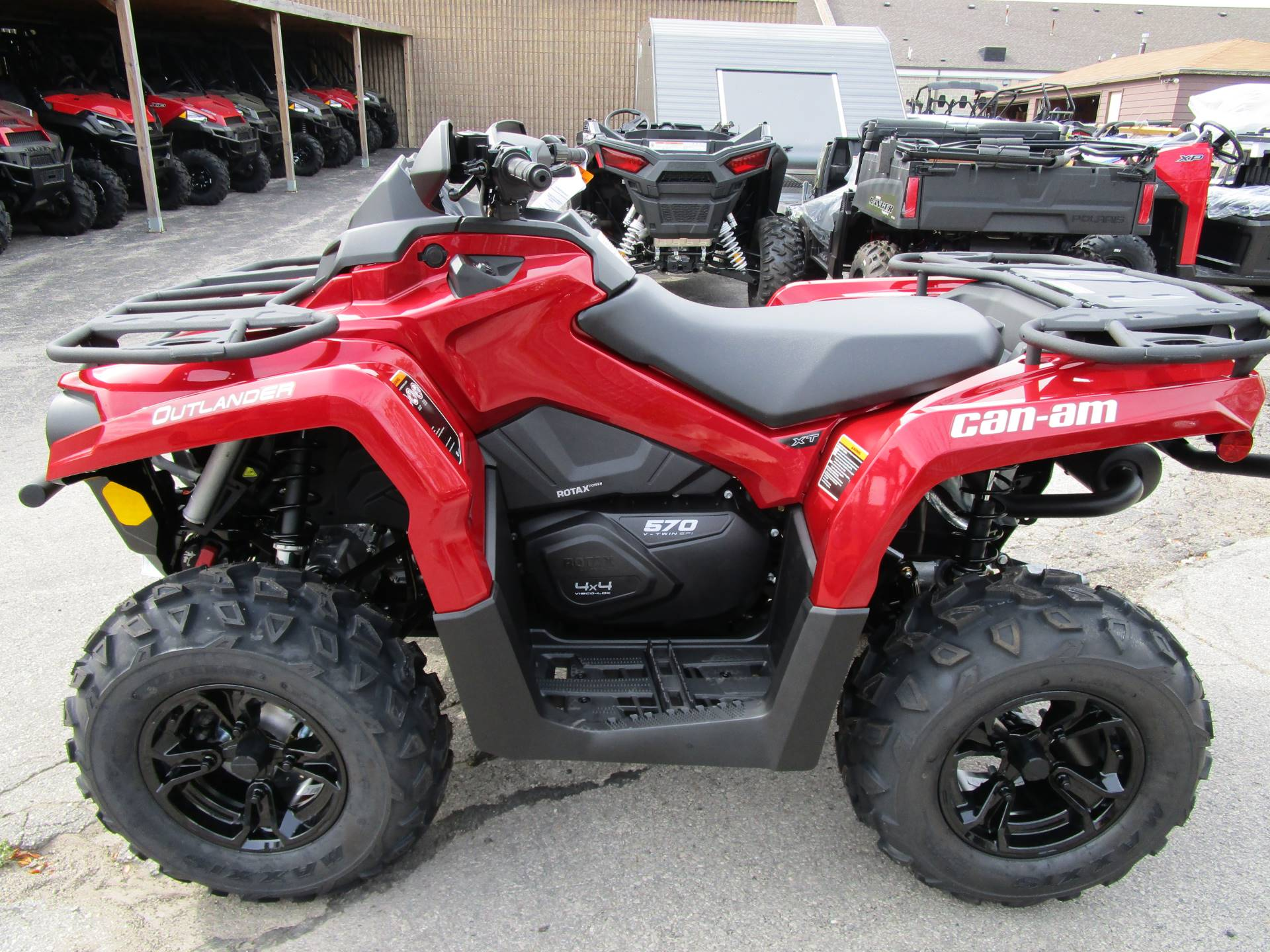 2018 Can Am Atvs >> New 2018 Can-Am Outlander XT 570 ATVs in Brookfield, WI