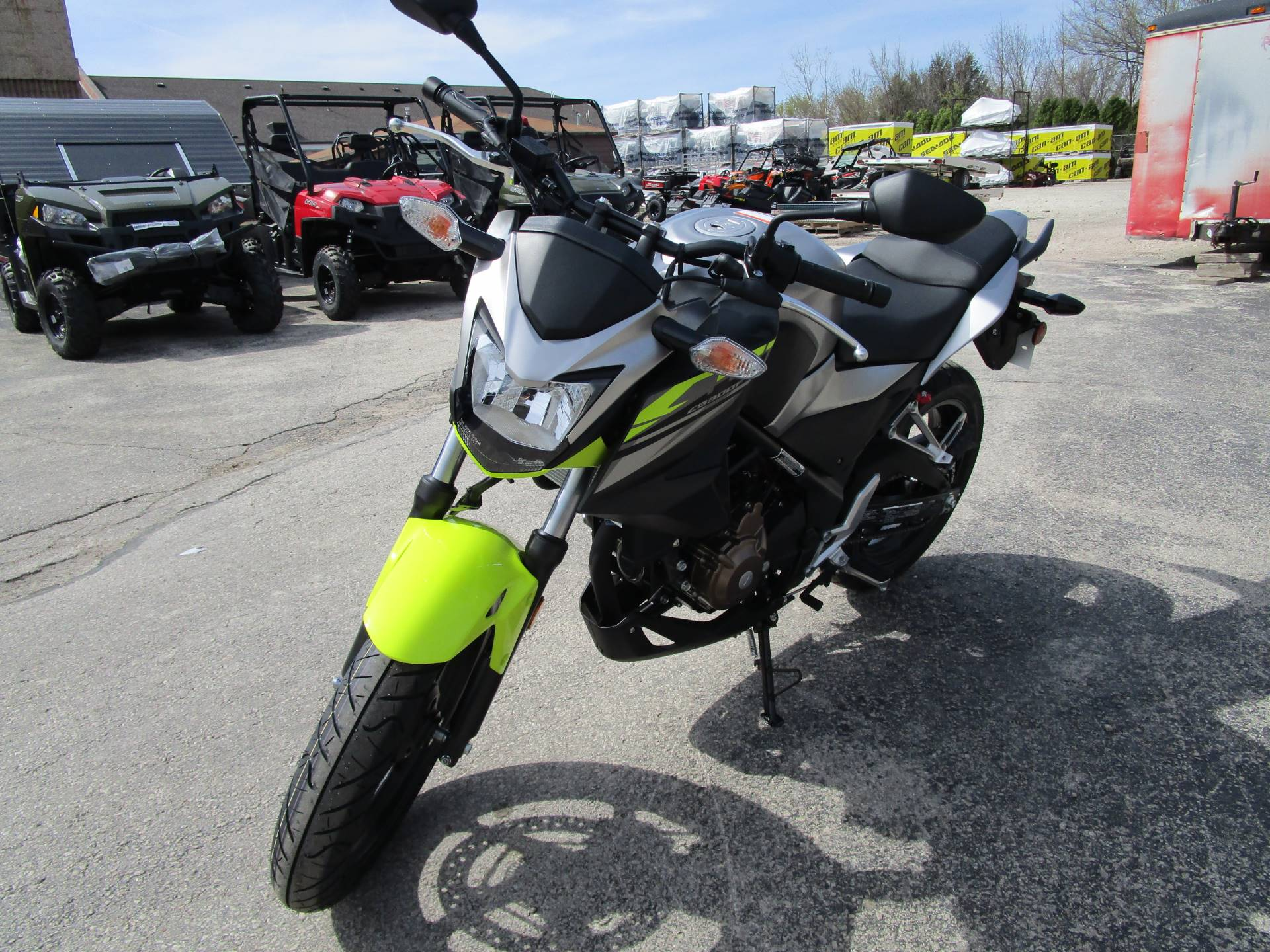 2017 Honda CB300F ABS in Brookfield, Wisconsin