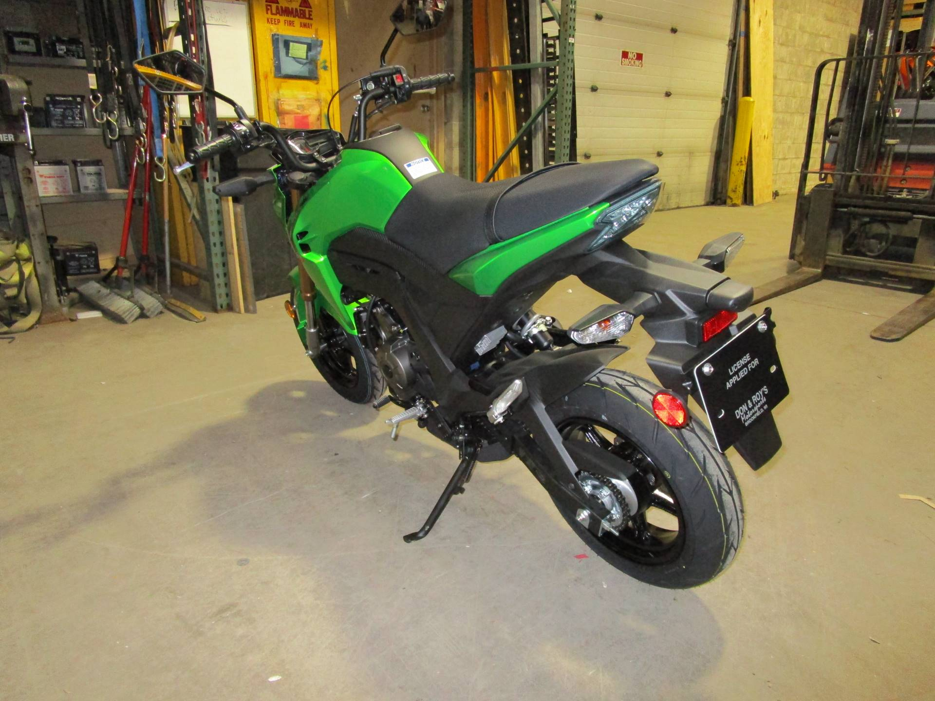 2017 Kawasaki Z125 Pro in Brookfield, Wisconsin