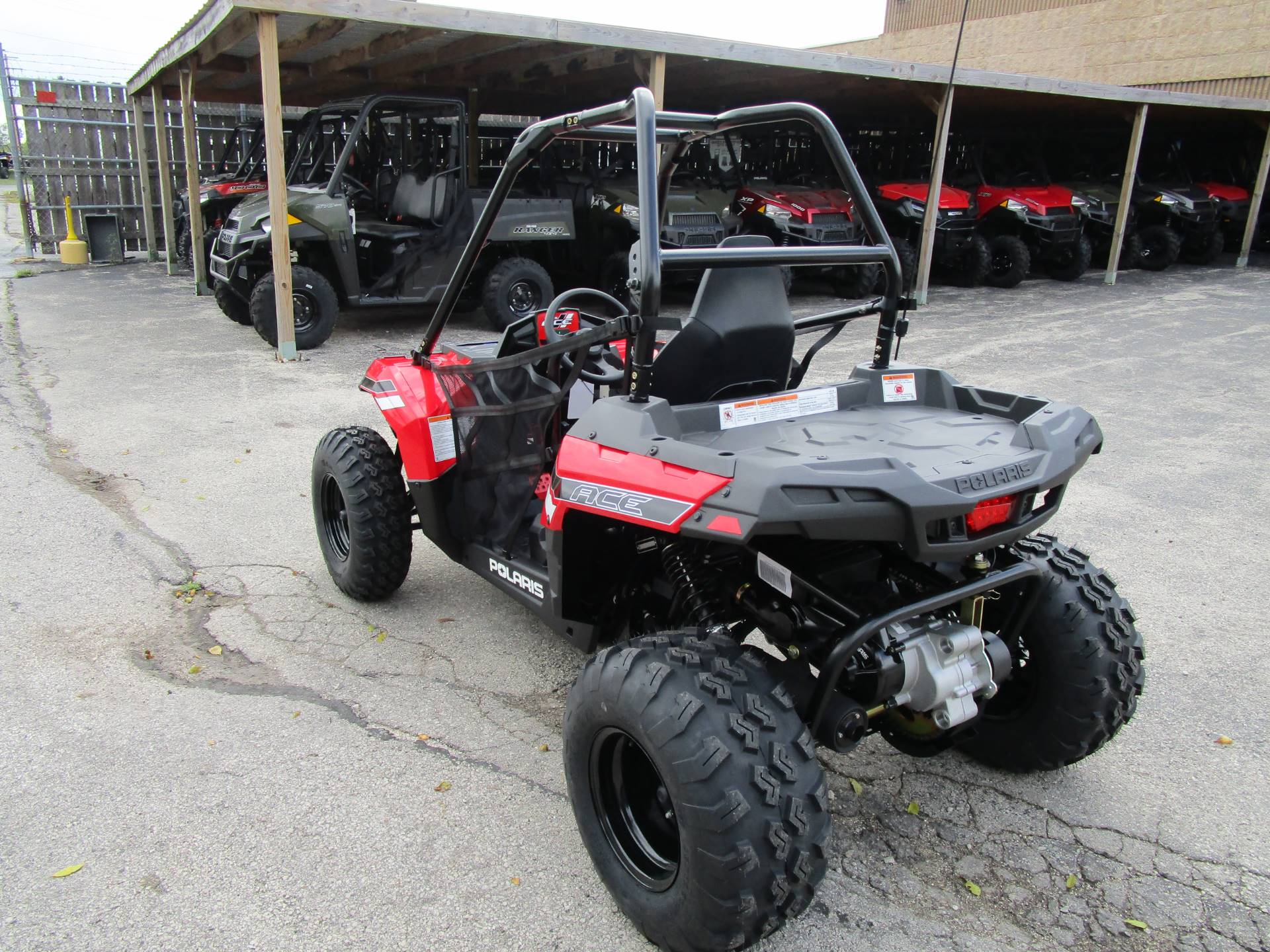 2018 Polaris Ace 150 EFI 8