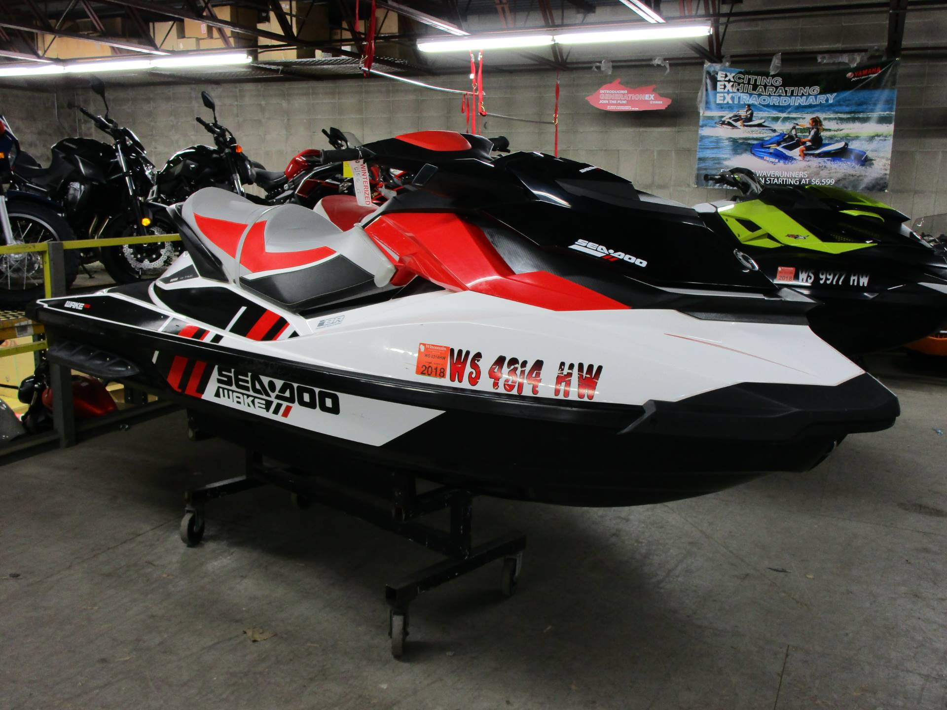 2012 Sea-Doo Wake™ 155  in Brookfield, Wisconsin