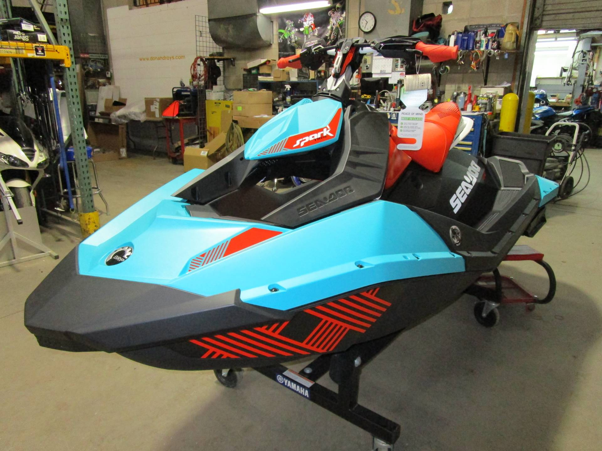 2017 Sea-Doo Spark 2up Trixx iBR in Brookfield, Wisconsin