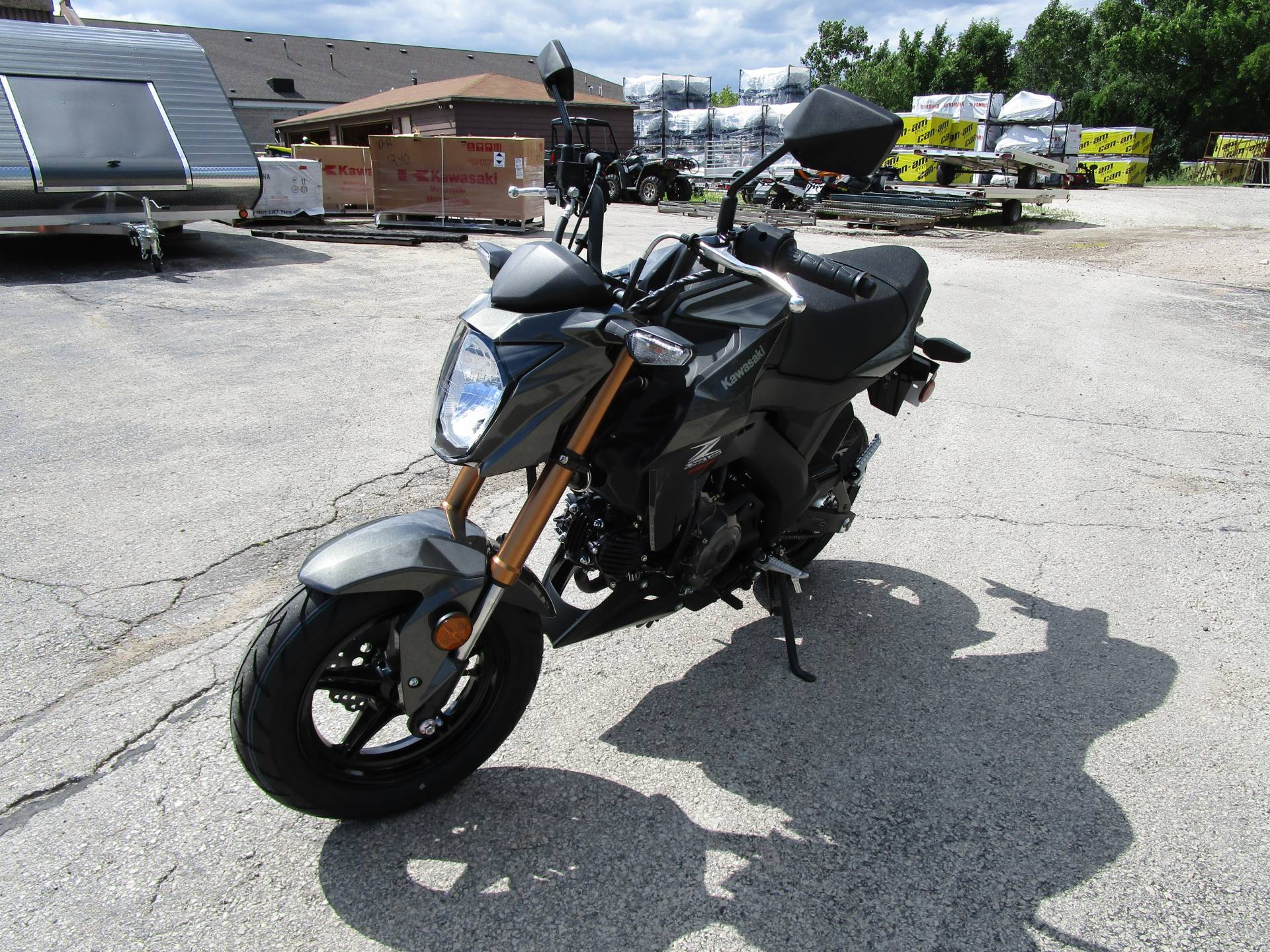 2018 Kawasaki Z125 PRO in Brookfield, Wisconsin