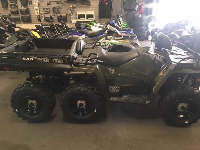 2019 Polaris Sportsman 6x6 Big Boss 570 EPS in Littleton, New Hampshire - Photo 1