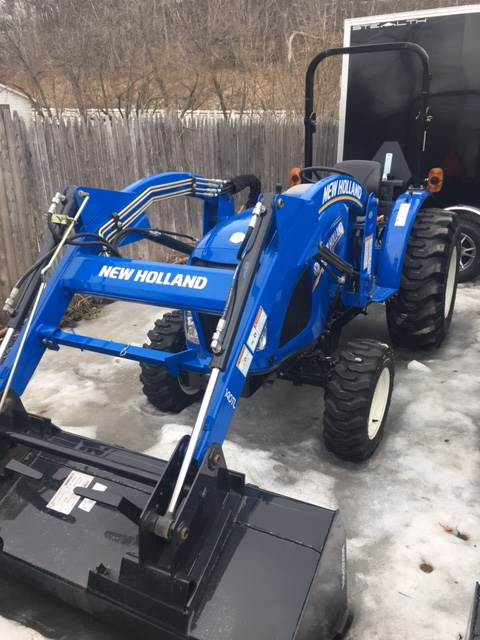 2018 New Holland Agriculture WM35 in Littleton, New Hampshire