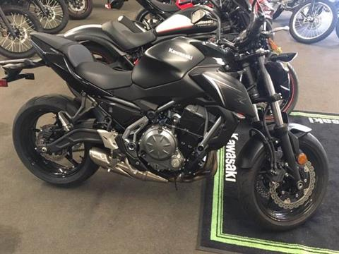 2017 Kawasaki Z650 in Littleton, New Hampshire