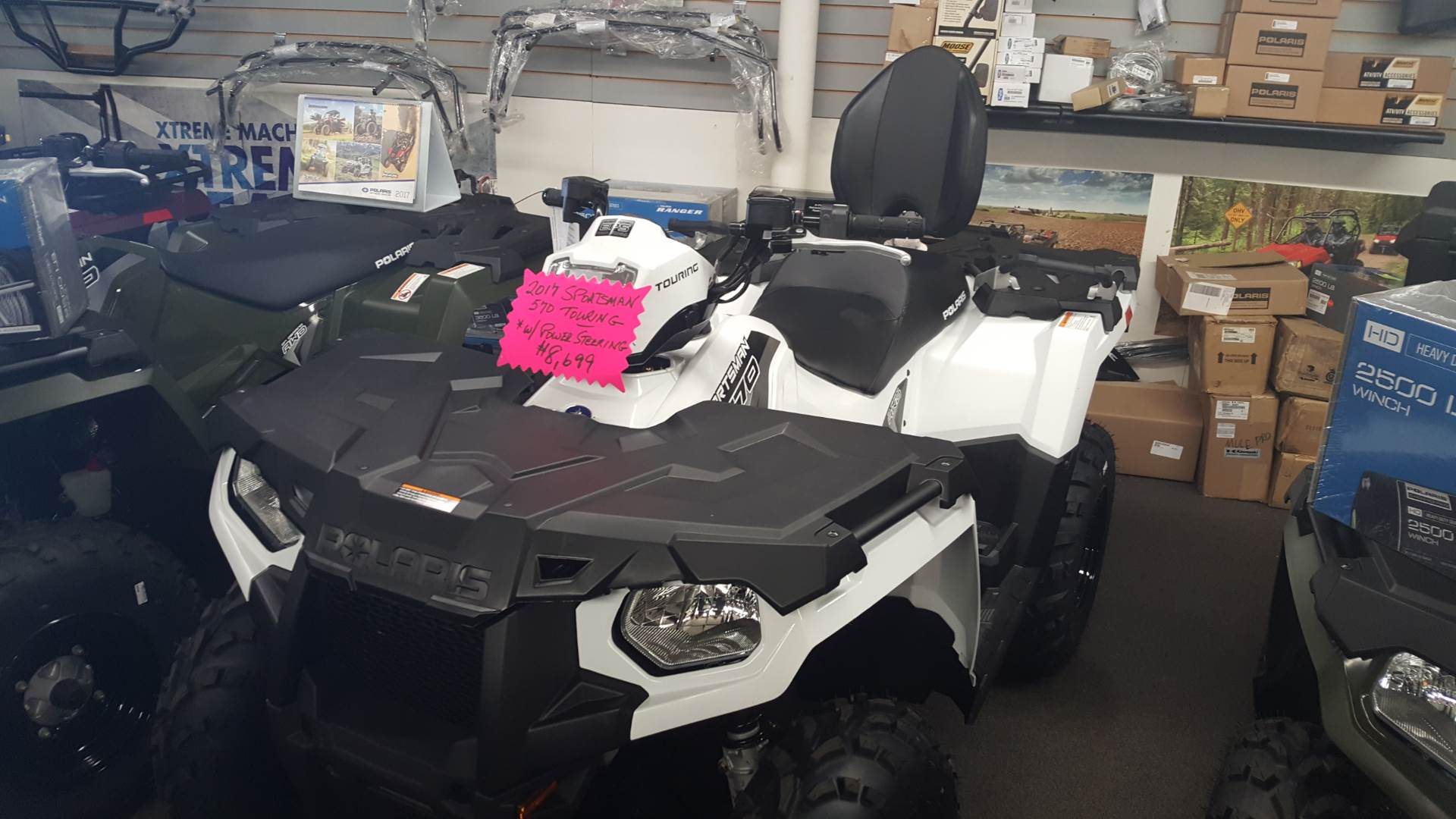 2017 Polaris Sportsman Touring 570 EPS in Littleton, New Hampshire