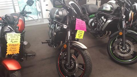 2017 Kawasaki Vulcan S ABS CAFÉ in Littleton, New Hampshire