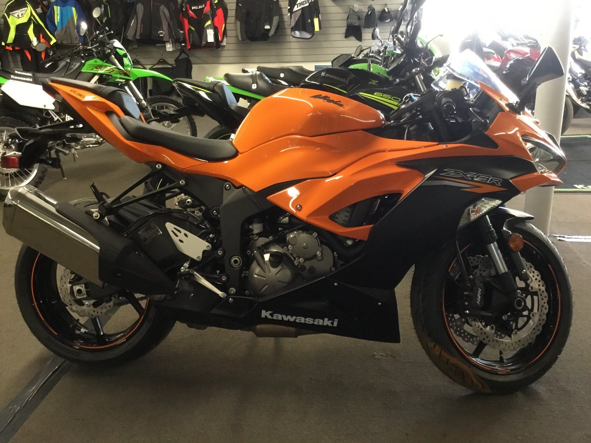 2020 Kawasaki Ninja ZX-6R in Littleton, New Hampshire - Photo 1