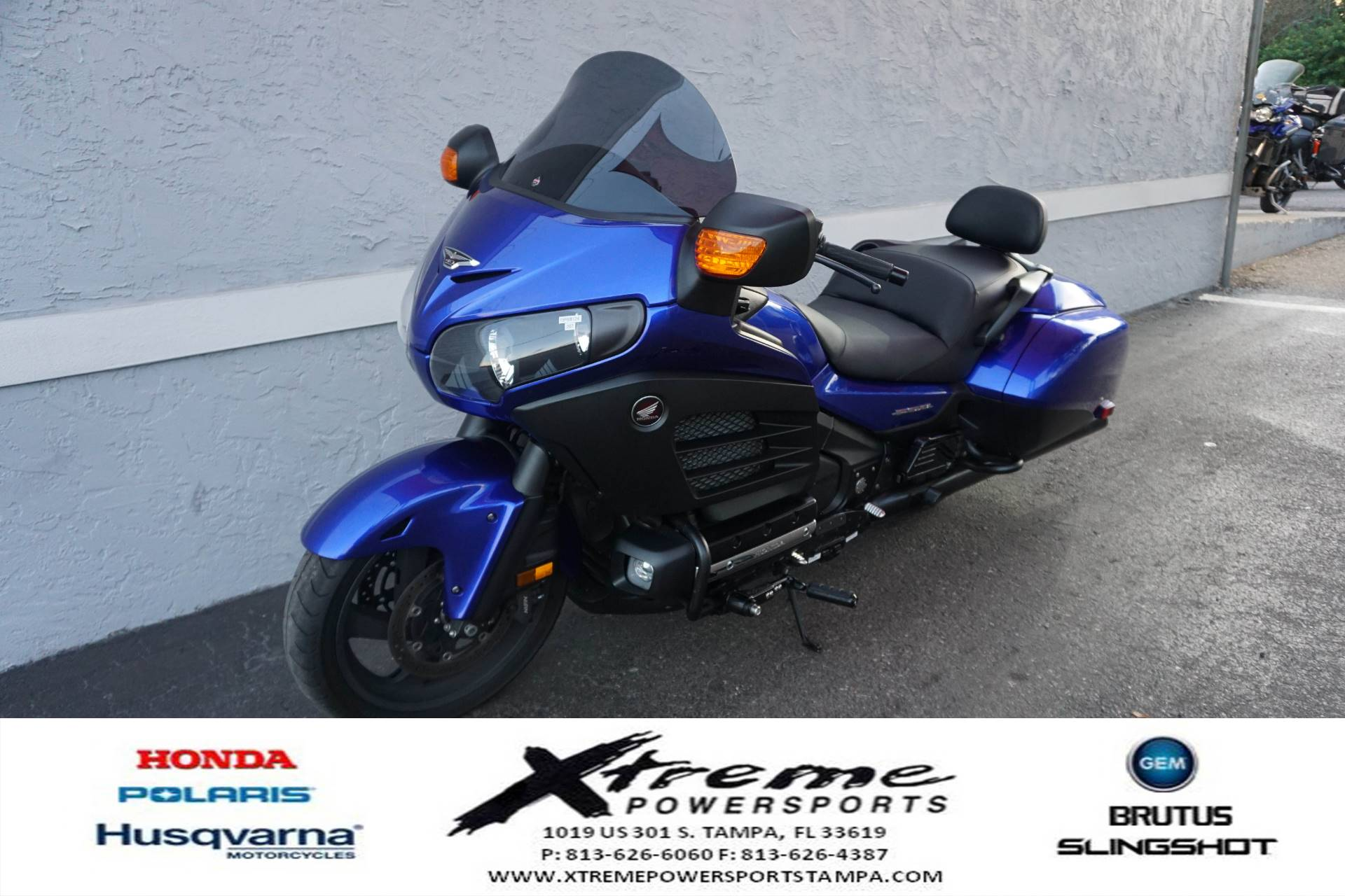 2015 Honda F6B DLX in Tampa, Florida - Photo 2