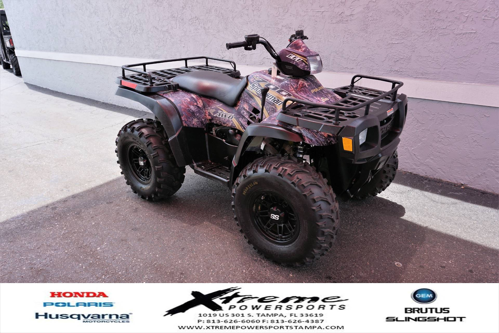 2004 Polaris SPORTSMAN 700 in Tampa, Florida - Photo 8