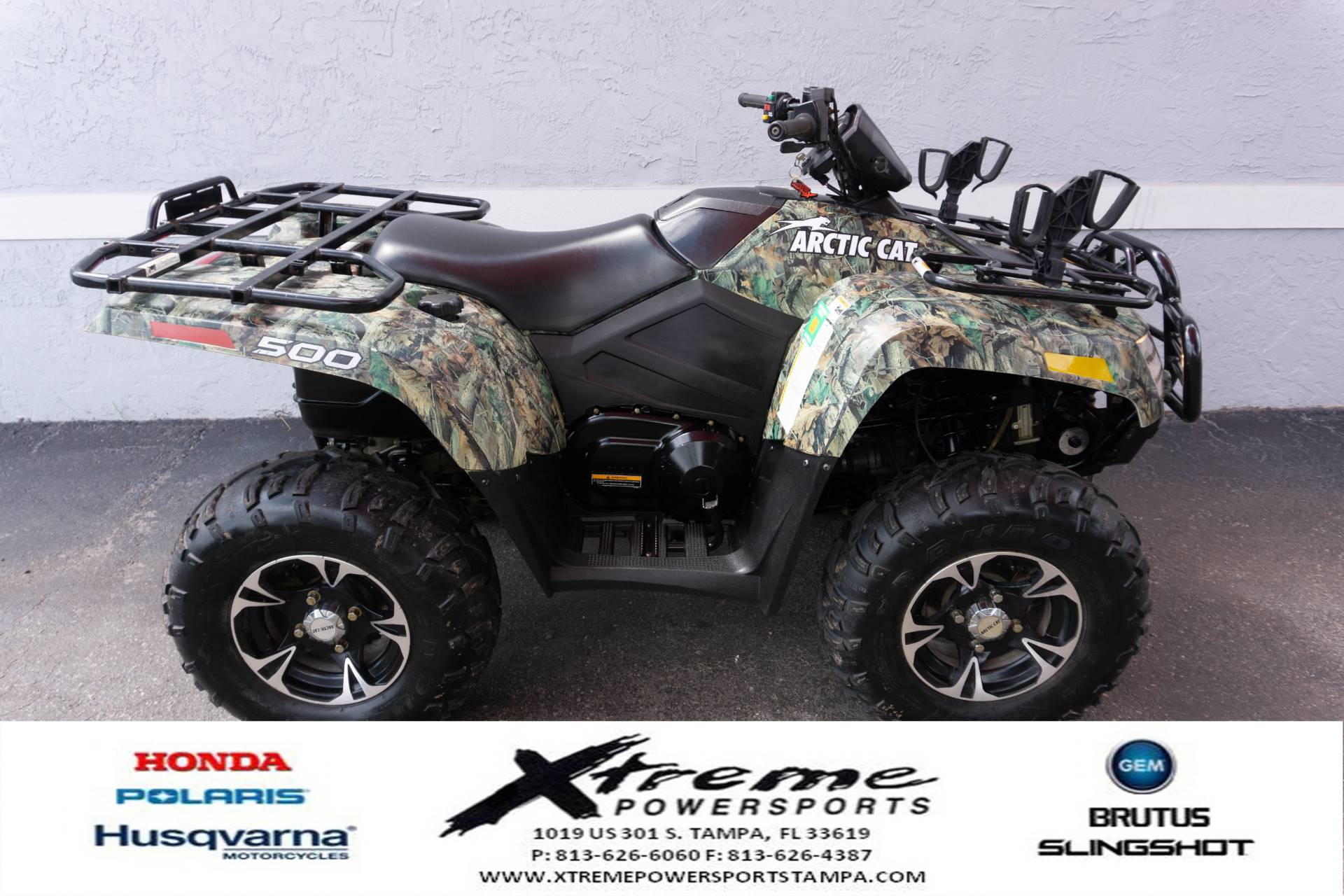 2013 ARTIC CAT 500 XT 4X4 in Tampa, Florida - Photo 6