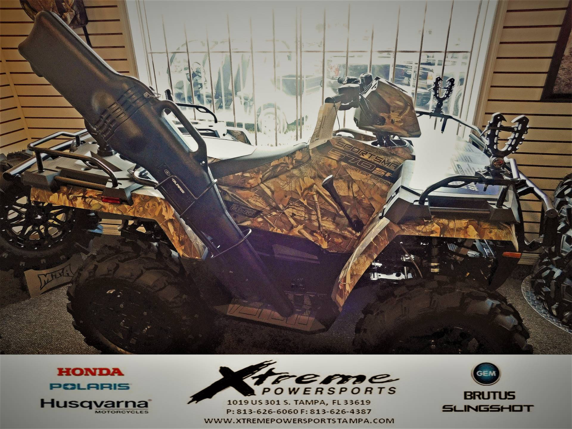 2019 Polaris SPORTSMAN 570 HUNTER EDITION in Tampa, Florida